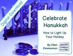 Celebrate #Hanukkah guide - #Free now. Help yourself. Share w a friend. http://jewishholidaysinabox.com/blog/my-hanukkah-gift-to-you/