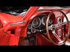 1964 Chevy Corvette Red - YouTube #GRAutoGallery