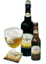 Cerveja The 2 Caps, estilo Belgian Blond Ale, produzida por Brasserie Artisanale des 2 Caps / Christophe Noyon, França. 6% ABV de álcool.