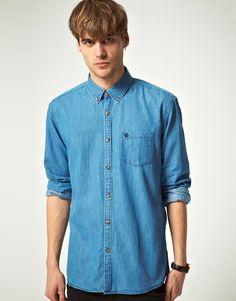 selected denim shirt.