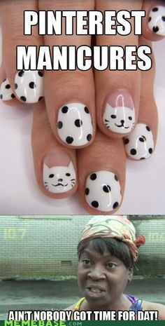 Pinterest manicures: seriously