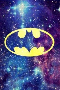 Galaxy batman....omg i want this everywhere  lol