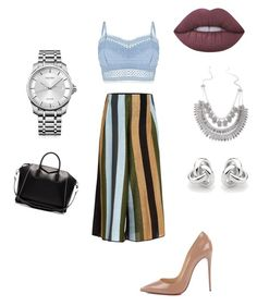 """""""Styles by Ray"""" by shamaiwillis on Polyvore featuring Lipsy, Circus Hotel, Christian Louboutin, Lime Crime, Calvin Klein, Georgini and Givenchy"""