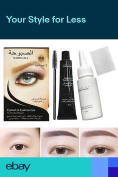 120501ab176 Eyelash Eyebrow Dye Tint Gel Eye Brow Mascara Cream Brush Kit Waterproof