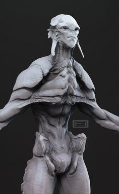 ArtStation - Alien Concept WIP, Field Leisner