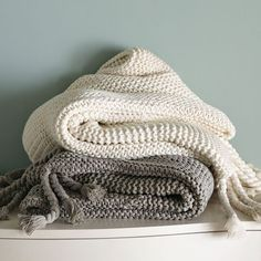 """West Elm Throw Blanket The Writeup Reads """"the Perfect Antidote To A Cold Evening""""  I'm A"""