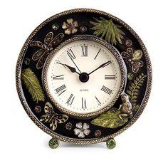 IMAX Chic Jeweled Desk Clock - Wayfair