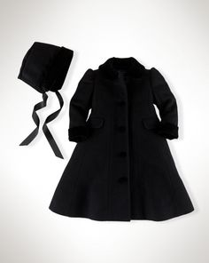 Baby girl tweed coat