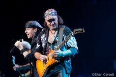 Matthias Jabs & Klaus Meine of the Scorpions  - June 15, 2012 - Comerica Theater - Phoenix, AZ