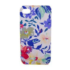 leather floral iphone case