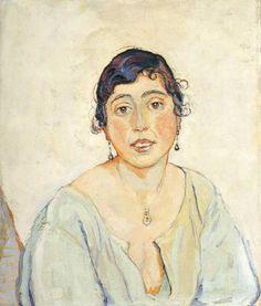 Portrait of a Woman, 1887, Ferdinand Hodler
