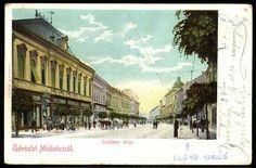Miskolc Széchenyi utca. Lloyd szálló | Képeslapok | Hungaricana