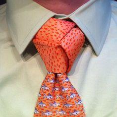 The Trinity with my shark-week tie.