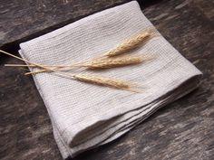 Linen Bath Towel Natural Eco Bath Towel Linen Towel by ManCrochets