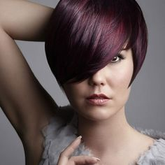 red violet hair color dye ideas Red Violet Hair Color Ideas and the Considerations