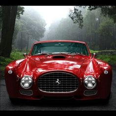 Rare Ferrari F-340.  I like American Muscle cars but this is simply awesome.
