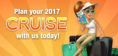 Plan your 2017 cruise with us today!