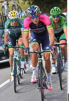Vuelta a España 2014 - Stage 15: Oviedo - Lagos de Covadonga 152.2km - After being in the decisive breakaway, Niemiec went on to win stage 15 at the Vuelta