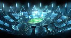 ArtStation - Galaxy 11 concept for World Cup campaign , emmanuel shiu