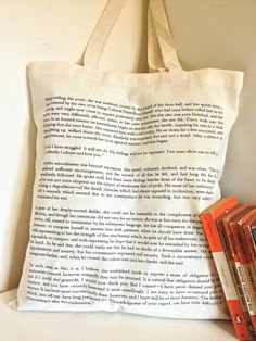 Pride And Prejudice Cotton Tote Bag