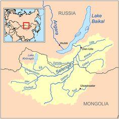 Selenga River | #GeologyPage