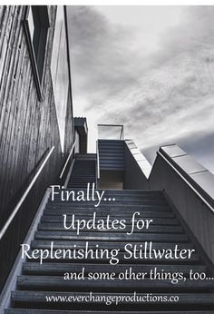 Catch up with the latest updates for Replenishing Stillwater, a documentary about how to reduce, reuse and recycle in Stillwater.