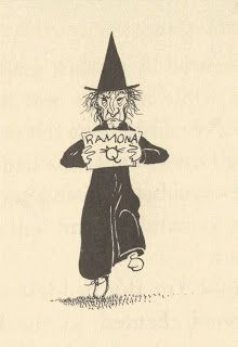 Scary witch ala Ramona the Pest Ramona The Pest, Ramona Quimby, Pumpkin Books, Beverly Cleary, Old Children's Books, Halloween Rocks, Children's Book Illustration, Book Illustrations, Doodle Inspiration