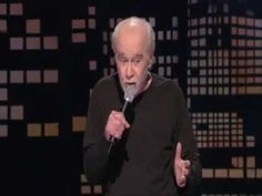 George Carlin - What would happen if we didn't have electricity - YouTube