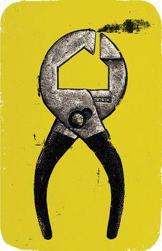 Curt Merlo Illustration: Housing Work