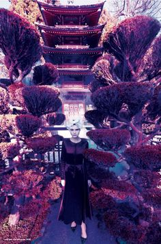 Fashion In Full Bloom: Alexa Yudina And Nora Vai By Amber Gray For Mojeh #26 April 2015
