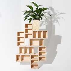 • PIGEON HOLES : Like Butter - Display shelves made from offcuts