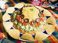 Registered Dietitian Zonya Foco has lots of free, yummy & nutritious recipes on her website, like this layered dip.