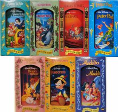 1990's Disney Cups from Burger King - proud owner of all of them once upon a time.