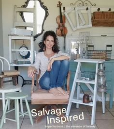 Salvage Inspired. . Imperfections : the essence of beauty