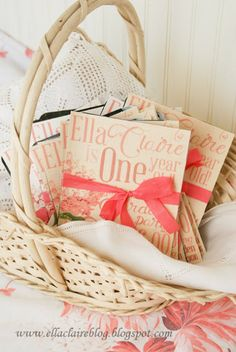 {Ella Claire}: Linen Fabric Invitation Printing {Tutorial} and a Few Answers to Questions