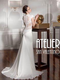 f06c60f433d6 Disponibile in Atelier San Valentino Bussolengo Verona. ateliersanvalentino  · abito da sposa ...