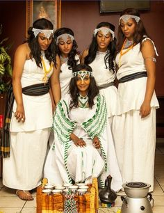 Oromo traditional wedding.