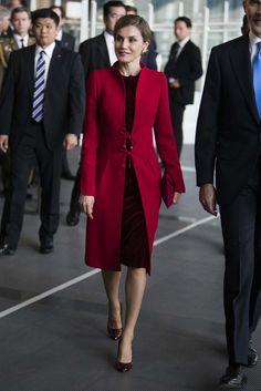 La Reina Letizia en Japón: ceremonia de apertura