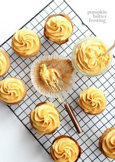 Pumpkin Butter Frosting | www.cookiesandcups.com @Shelly Jaronsky (cookies and cups)