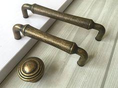 Handcrafted Iron ARROW tiroir TirezAntique Bronze Métal Armoire Poignée de porte 23
