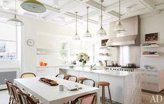 light + bright kitchen.