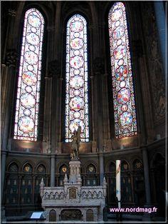 chapelle Jeanne d'Arc.cathédrale Notre-Dame-de-la-Treille. Lille. Nord-Pas-de-Calais