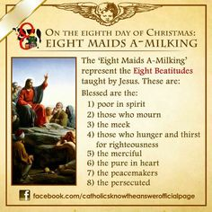 EIGHT MAIDS A-MILKING
