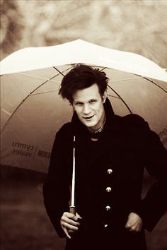 Matt Smith--my favorite and in my opinion the most attractive Doctor! <3