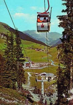 EUB 1972 #Hintertux ©Zillertaler Gletscherbahn