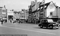 Old Photos of Enfield, Greater London - browse nostalgic, historic local photos online Vintage London, Old London, Old Pictures, Old Photos, Enfield England, Enfield Middlesex, Enfield Town, Greater London
