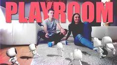 GoGoManTV playstation playroom