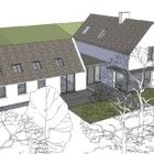 EXISTING COTTAGE RENOVATION WITH EXTENSION, RATHCORMAC, CO.CORK | Louise Sliney Architects House Extension Design, Extension Designs, House Design, Lac Louise, Cottage Renovation, Shop Displays, House Extensions, Modern Farmhouse, Cork