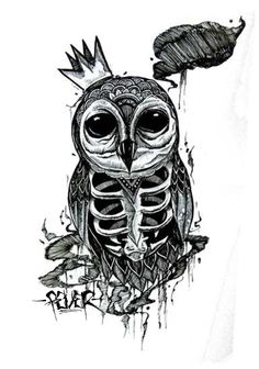 approved for hoodie :D  #owl #illustration http://adanmaruciel.blogspot.com/2012/04/owl-for-hoodie.html