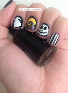 Fierce Makeup and Nails: Twinsie Tuesday: Nightmare Before Christmas